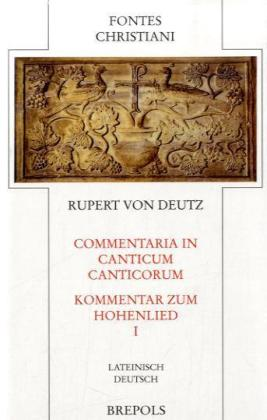 Commentari in Canticum Canticorum 1 als Buch