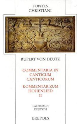 Commentari in Canticum Canticorum 2 als Buch