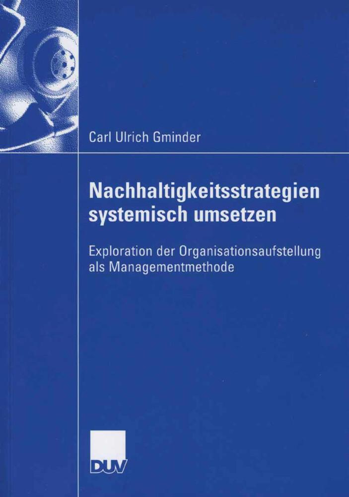 Nachhaltigkeitsstrategien systemisch umsetzen als Buch