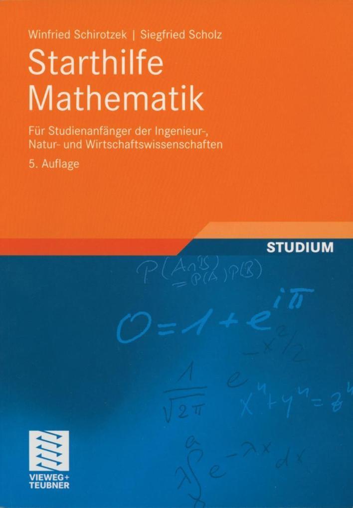 Starthilfe Mathematik als Buch