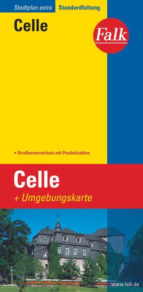 Falk Stadtplan Extra Standardfaltung Celle 1 : 20 000 als Buch