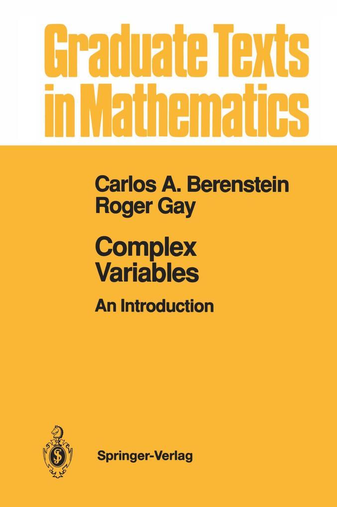 Complex Variables als Buch