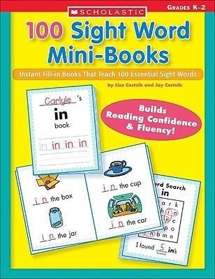 100 Sight Word Mini-Books: Instant Fill-In Mini-Books That Teach 100 Essential Sight Words als Taschenbuch