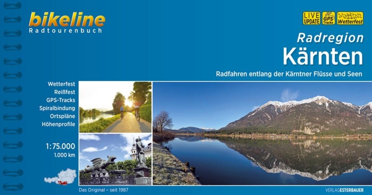 Radregion Kärnten als Buch