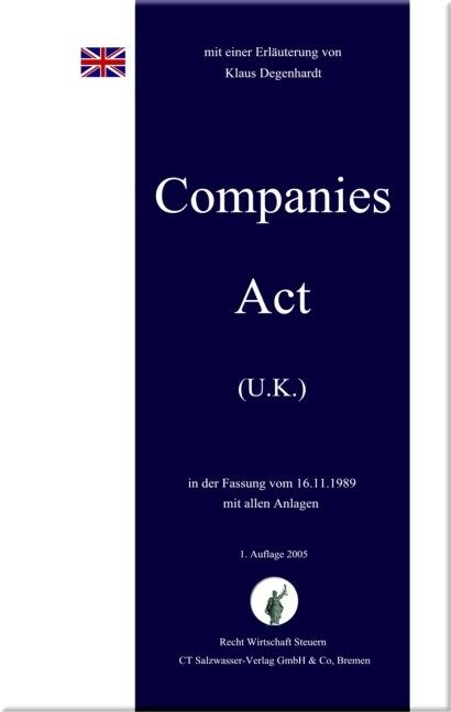 Companies Act U.K. als Buch