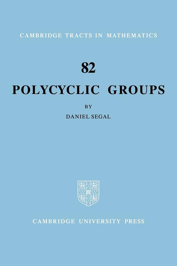 Polycyclic Groups als Buch