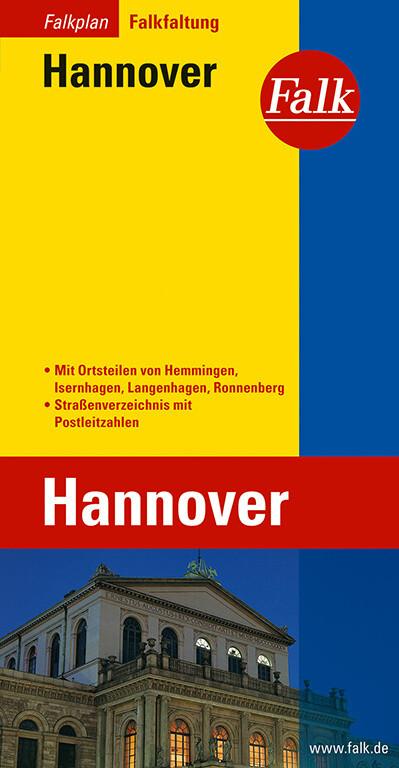 Falk Stadtplan Falkfaltung Hannover als Buch