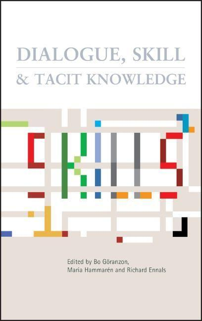 Dialogue, Skill and Tacit Knowledge als Buch