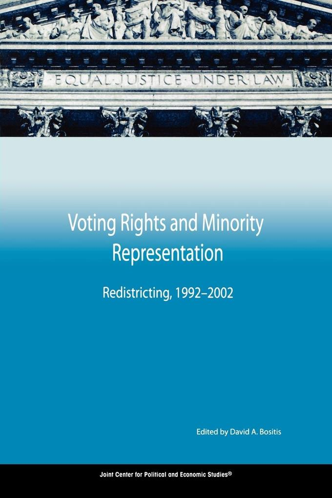 Voting Rights and Minority Representation: Redistricting, 1992-2002 als Taschenbuch