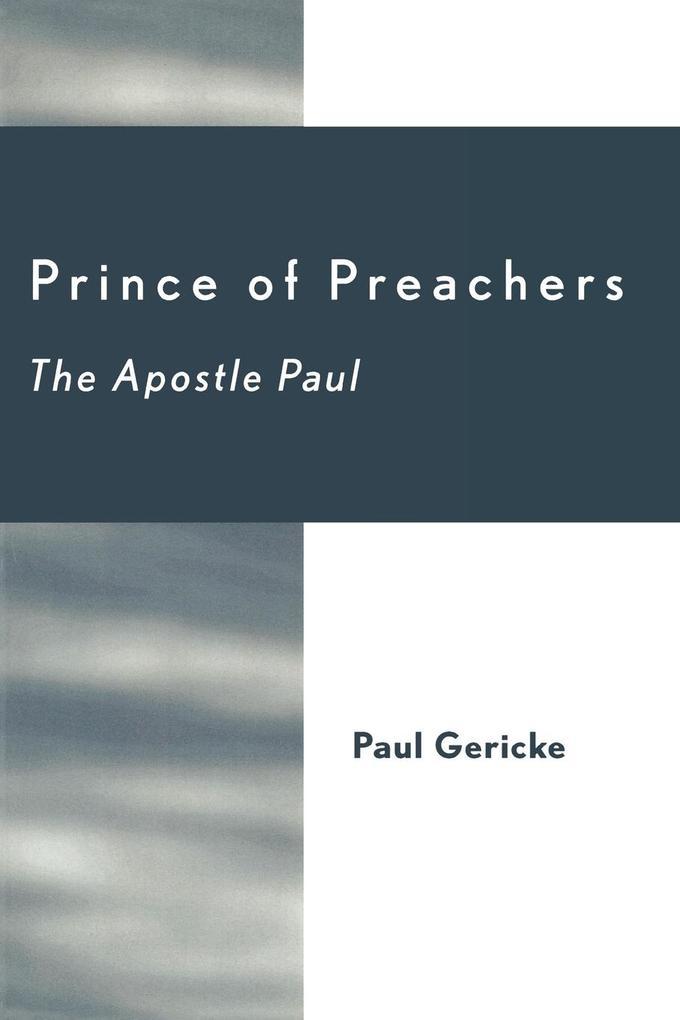 Prince of Preachers als Taschenbuch