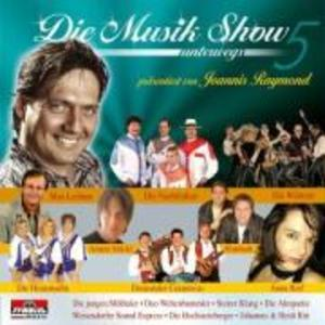 Die Musikshow unterwegs-5 als CD