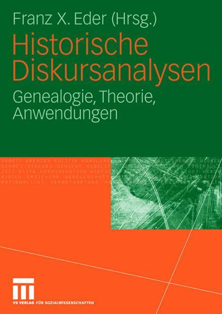 Historische Diskursanalysen als Buch