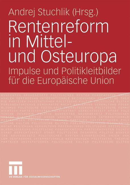 Rentenreform in Mittel- und Osteuropa als Buch