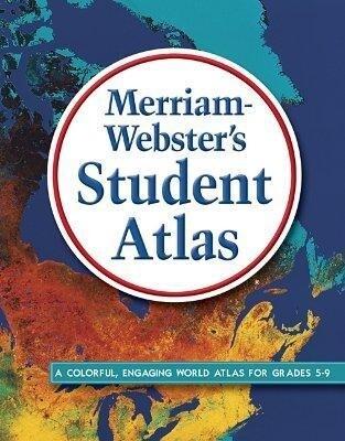 Merriam-Webster's Student Atlas als Buch