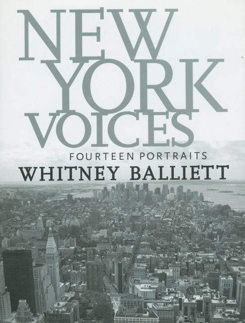New York Voices: Fourteen Portraits als Buch