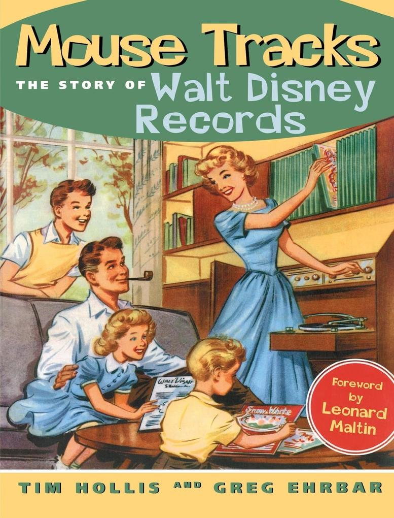Mouse Tracks: The Story of Walt Disney Records als Taschenbuch
