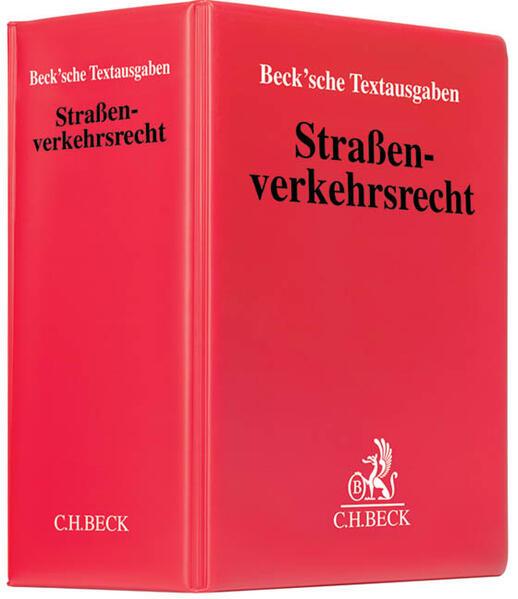 Straßenverkehrsrecht (mit Fortsetzungsnotierung). Inkl. 88. Ergänzungslieferung als Buch