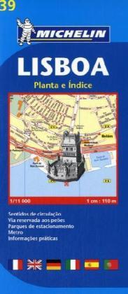 Lisboa, 1:11 000 als Buch