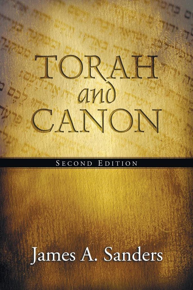 Torah and Canon als Taschenbuch