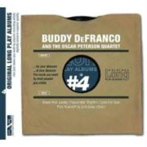 Buddy DeFranco and the Oscar Peterson Quartet als CD