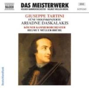 Fünf Violinkonzerte als CD