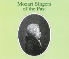 Mozart-Sänger D.Vergangenheit als CD
