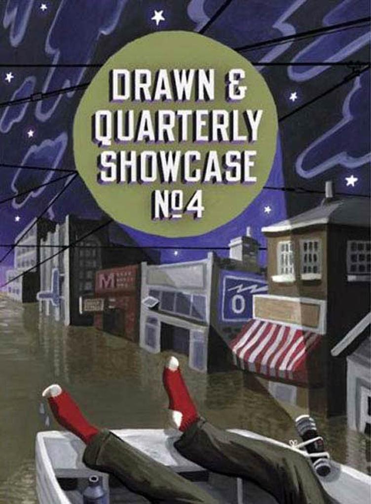 Drawn & Quarterly Showcase: Book Four: Book Four als Taschenbuch