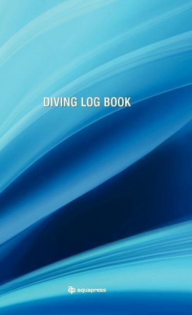 Diving Log Book - Blue Wave als Buch
