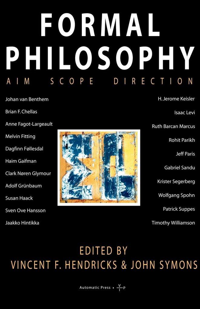 Formal Philosophy als Taschenbuch