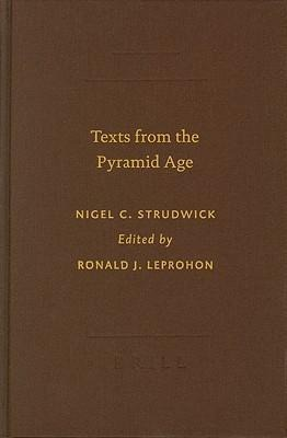 Texts from the Pyramid Age als Buch