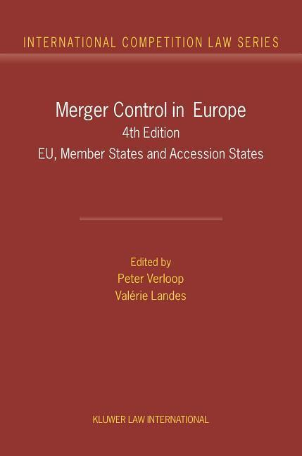 Merger Control in Europe: EU, Member States and Accession States als Buch