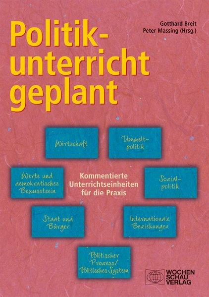 Politikunterricht geplant als Buch