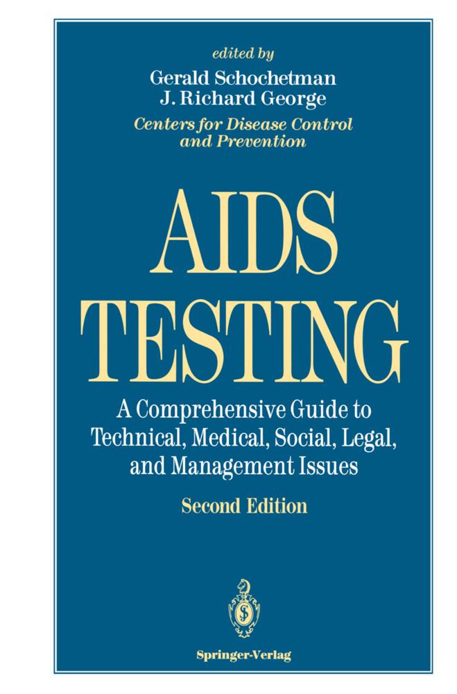 AIDS Testing als Buch von W. R. Dowdle