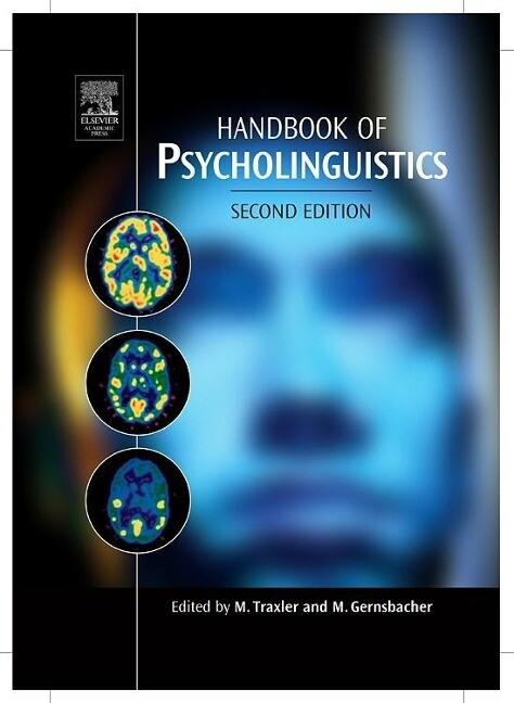 Handbook of Psycholinguistics als Buch
