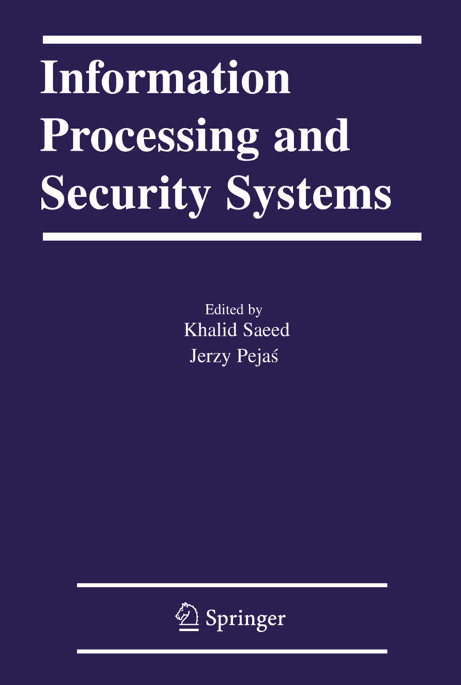 Information Processing and Security Systems als Buch
