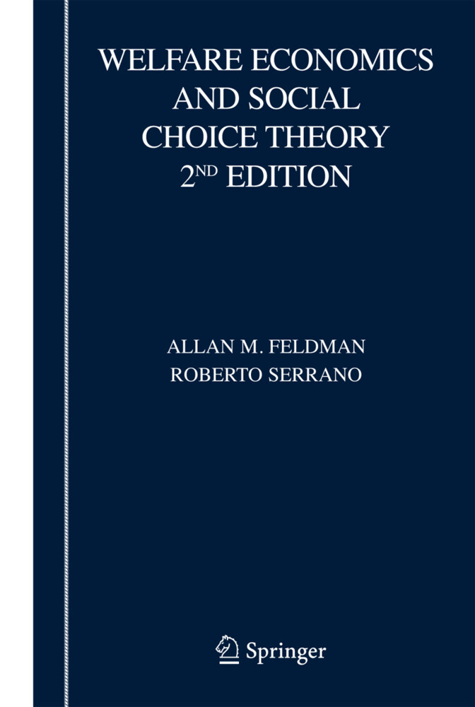 Welfare Economics and Social Choice Theory als Buch