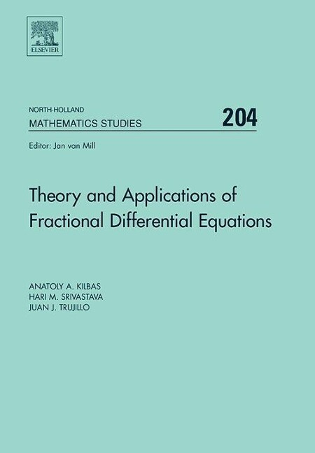 Theory and Applications of Fractional Differential Equations als Buch