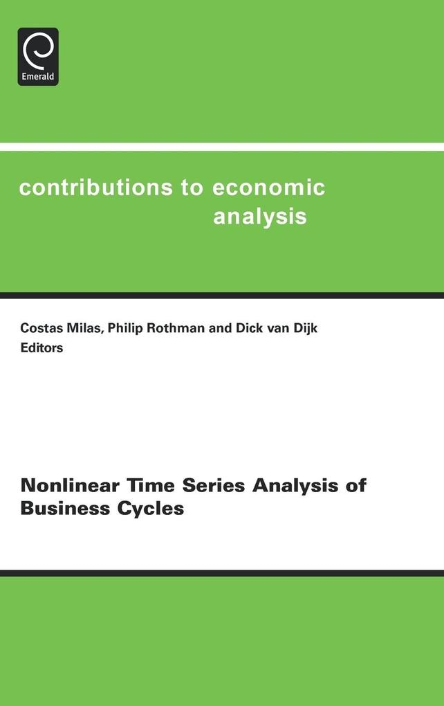 Nonlinear Time Series Analysis of Business Cycles als Buch