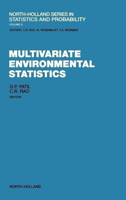Multivariate Environmental Statistics als Buch