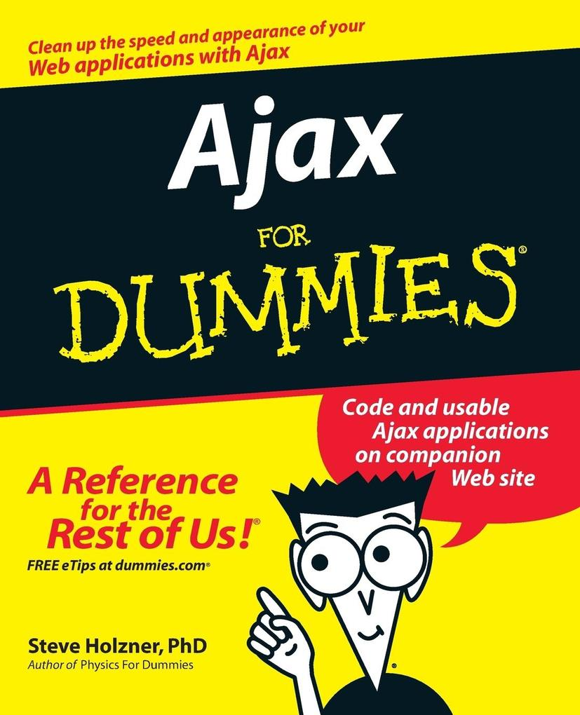 Ajax For Dummies als Buch