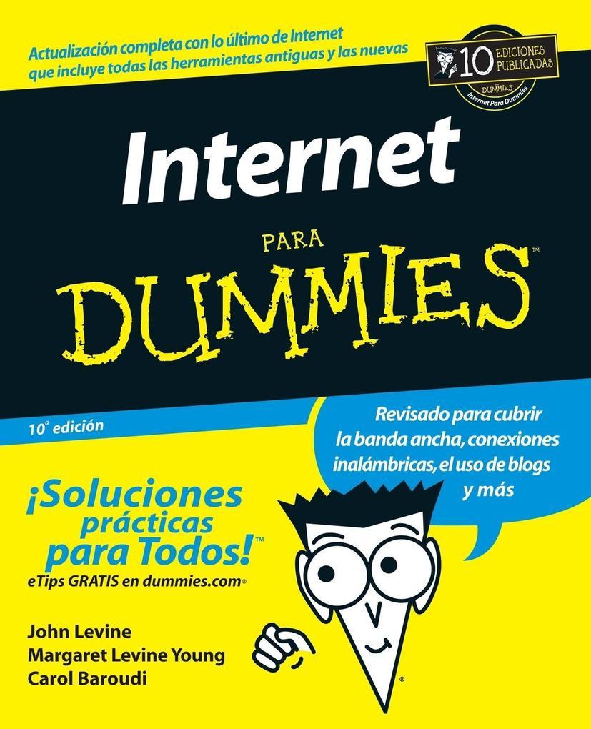 La Internet Para Dummies als Taschenbuch