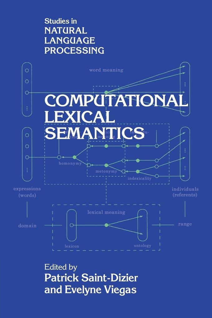 Computational Lexical Semantics als Buch