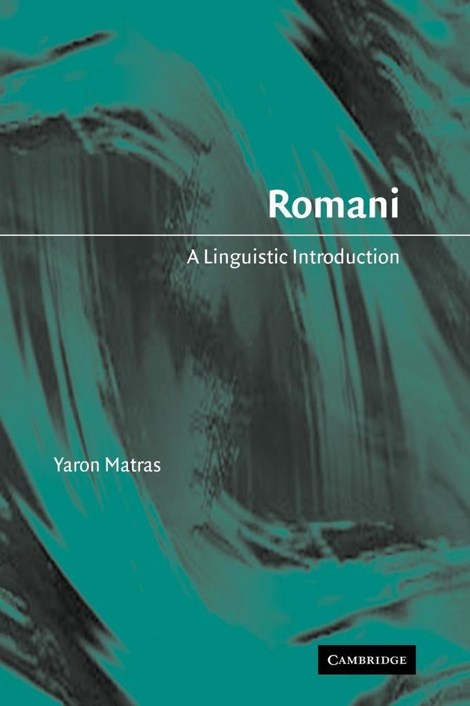 Romani: A Linguistic Introduction als Buch