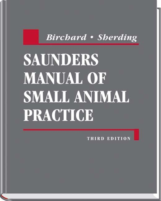 Saunders Manual of Small Animal Practice als Buch