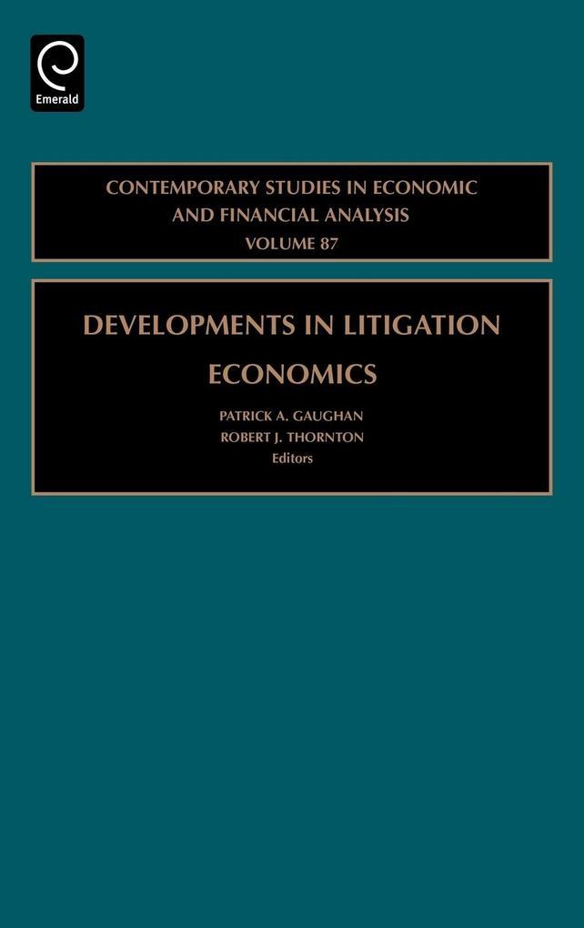 Cont Studies in Economics V87 als Buch