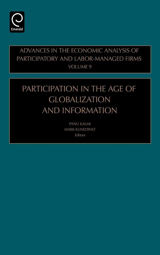 Participation in the Age of Globalization and Information als Buch