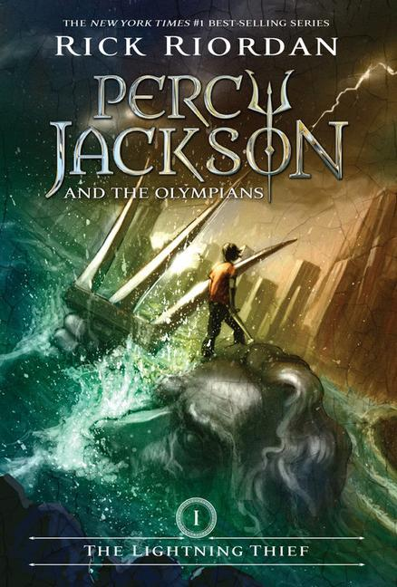 Percy Jackson and the Olympians, Book One the Lightning Thief als Taschenbuch