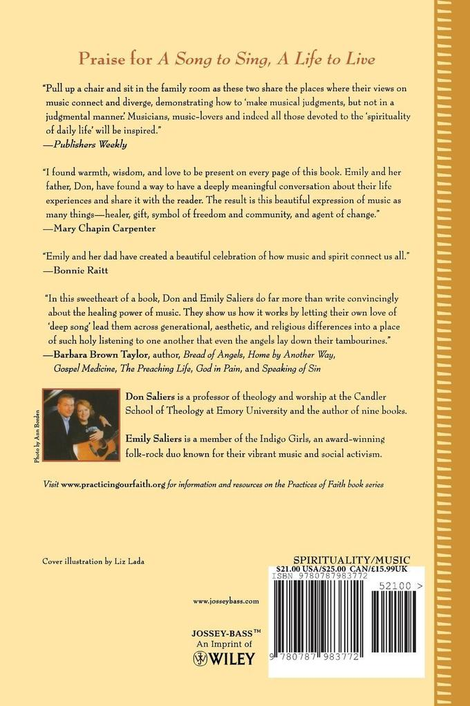 Song to Sing, A Life to Live P als Taschenbuch