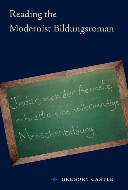 Reading the Modernist Bildungsroman als Buch
