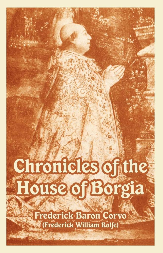 Chronicles of the House of Borgia als Buch